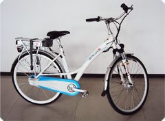 8 Speeds  City bike